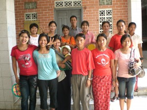 Some of the participants on the teacher's seminar