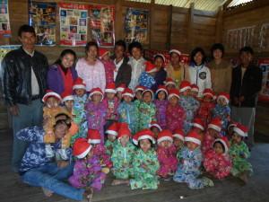 Julefeiring i Chinfjellene